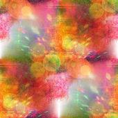 Światło zielone, czerwone bez szwu streszczenie sztuka tekstura akwarela wal — Zdjęcie stockowe