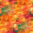Stock Photo: Sunlight orange seamless abstract art texture watercolor wallpap