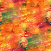 Sunlight orange seamless abstract art texture watercolor wallpap — Stock Photo