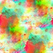 Stock Photo: Sunlight seamless abstract art green, red texture, watercolor wa