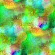 Sunlight seamless abstract green art texture watercolor wallpape — Stock Photo