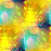 Sunlight seamless abstract art yellow green texture, watercolor — Stock Photo