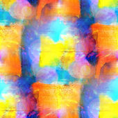 Sunlight seamless abstract art yellow, blue texture, watercolor — Stock Photo