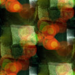 Sunlight seamless cubism green abstract art Picasso texture wate — Stock Photo #28830733