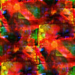 Sunlight seamless cubism red, green, yellow abstract art Picasso — Stock Photo #28830863