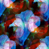 Sunlight seamless cubism abstract blue, red art Picasso texture — Stock Photo