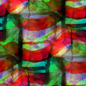 Sunlight seamless green red cubism abstract art Picasso texture — Stock Photo