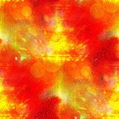 солнечный свет бесшовные оранжевый абстрактного искусства текстуру акварели wallpap — Стоковое фото