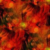Sunlight art seamless texture orange background watercolor abstr — Stock Photo