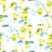 Mauer-und Aquarell, grün, blau, nahtlose Textur Hintergrund Farbe ab — Stockfoto