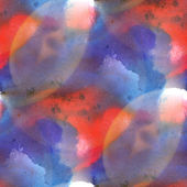 Glare from purple red spot watercolors — Stock Photo