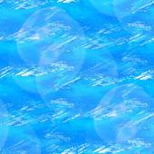 Blendung von blauen wasserfarben nahtlose textur mit flecken und speichern — Stockfoto
