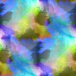 Glare from spot watercolor blue green purple blotch texture bac — Stock Photo #31588499