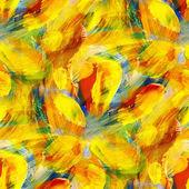 Suluboya kesintisiz sarı mavi kırmızı boya backgro kamaşma — Stok fotoğraf