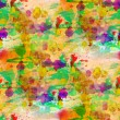 Glare from watercolors painting colorful background — Stock Photo