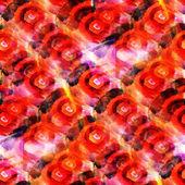 Tapeta umění obrázek akvarel bezešvé oranžové žluté poz — Stock fotografie