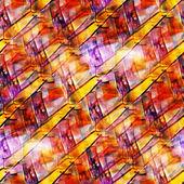 Wallpaper art picture watercolor seamless purple yellow backgrou — Stock Photo