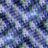 Resplandor de fondo transparente acuarela verde de la imagen azul de arte — Foto de Stock