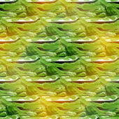 Seamless colorful green watercolor handmade, beautiful wallpaper — Stock Photo