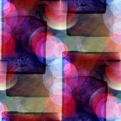 Quadratische Sonnenlicht Makro graue Flecken, Aquarell nahtlose Textur p — Stockfoto