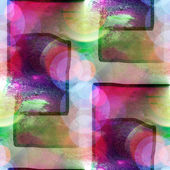 światło słoneczne kwadrat zielony, fioletowy makro miejscu blotch tekstury backgrou — Zdjęcie stockowe
