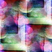 Kvadratmeter solljus gröna makro fläck fläck textur bakgrund — Stockfoto