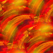 Artist art red yellow watercolor background, seamless paint back — Stock Photo