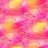 Artist grunge texture, watercolor pink seamless background, gree — Stock Photo