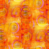 Artist orange seamless cubism abstract art Picasso texture water — Stock Photo