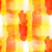 Künstler malen pinsel textur gelb orange aquarell fleck fleck — Stockfoto