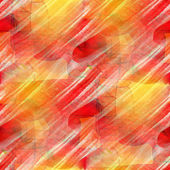 Artist red seamless cubism abstract art texture watercolor wallp — 图库照片