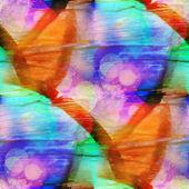 Seamless texture watercolor blue, orange — Stock Photo