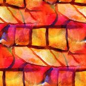 Design pattern seamless pink, brown texture watercolor backgroun — Stock Photo