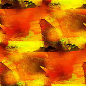 Background orange, yellow seamless watercolor — Stock Photo
