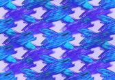 Style palette photo cadre aquarelle transparente fond bleu — Photo