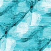Bokeh arte azul verde rosa aquarela isolado design — Fotografia Stock