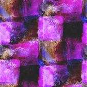 Abstract purple, black, cage avant-garde seamless wallpaper wate — Stock Photo