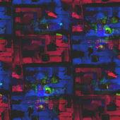 Resumen vintage rojo, azul vanguardista acuarela inconsútil textu — Foto de Stock