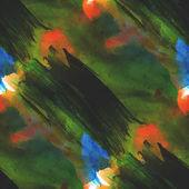 Art avant-garde yellow, green background hand paint seamless wal — Stock Photo
