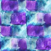 Art blue, purple avant-garde hand paint background seamless wall — Stock Photo