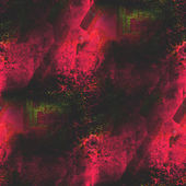Background watercolor red, green art seamless texture abstract b — Stock Photo