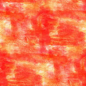 Artist watercolor red, orange background, art and seamless paint — Stock fotografie