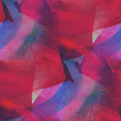 Colorful pattern water texture paint abstract color red, blue se — Stock Photo