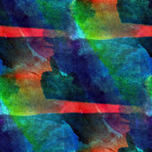 Colorful pattern water texture paint abstract color red, blue, g — Stock Photo