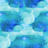 Colorful pattern blue water texture paint abstract color seamles — Foto Stock