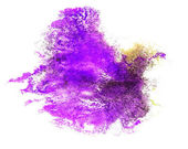 Abstract purple drawing stroke ink watercolor brush water color — Photo