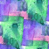 Colorful pattern water texture paint purple, green abstract colo — Stock Photo