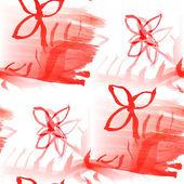 Rosso vernice di pattern colorati acqua consistenza, colore astratto fiore — Foto Stock