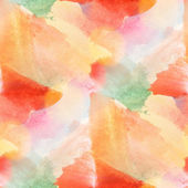 Paint colorful pattern water texture abstract color red, orange — Stock Photo