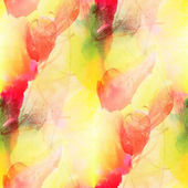 Paint colorful pattern water texture abstract color red, yellow, — Stock Photo